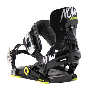 Now NXGEN Youth Snowboard Bindings 2017 - Black