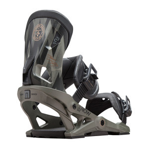 Now Drive Snowboard Bindings 2018 - Olive