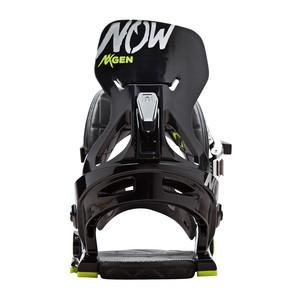 Now NXGEN Youth Snowboard Bindings 2018 - Black