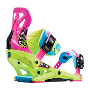 Now Brigade Snowboard Bindings 2019 - Retro