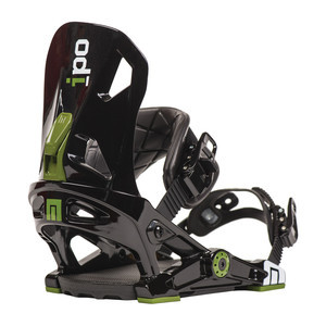 Now IPO Snowboard Bindings - Black
