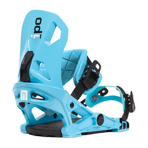 Now IPO Snowboard Bindings - Blue