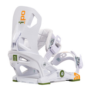 Now IPO Snowboard Bindings - White