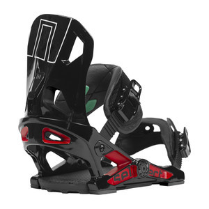 Now Select Snowboard Bindings - Black/Red