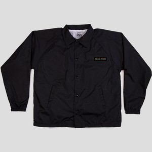 PASS~PORT Pride Official Coaches Jacket - Black