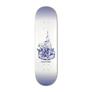 "PASS~PORT Burning 8.125"" Skateboard Deck - Ashtray"