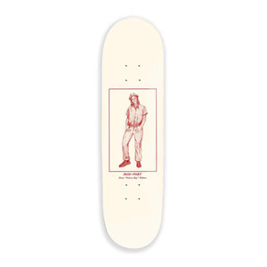 "PASS~PORT Palmer Fedora Boy 8.0"" Skateboard Deck"