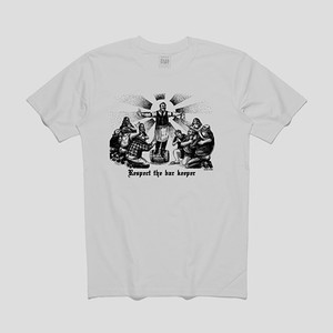 PASS~PORT Respect the Barkeeper T-Shirt — White
