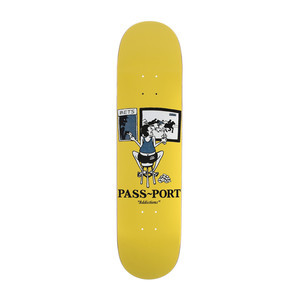 "PASS~PORT Addictions 8.5"" Skateboard Deck - Gambling"