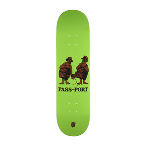 "PASS~PORT Barrels 8.0"" Skateboard Deck - Tap Me"