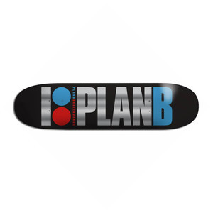 "Plan B OG Foil 8.0"" Skateboard Deck"