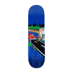 """Polar Boserio Welcome to Perth 8.25"""" Skateboard Deck - Blue"""