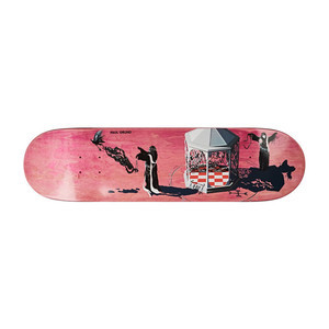 "Polar Grund Rituals 8.5"" Skateboard Deck - Coral"