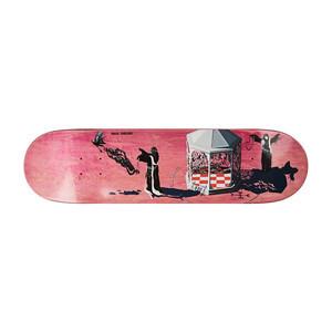 "Polar Grund Rituals 8.125"" Skateboard Deck - Coral"