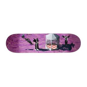 """Polar Grund Rituals 8.5"""" Skateboard Deck - Magenta"""