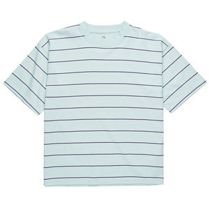 Polar Checkered Surf T-Shirt - Ice Blue