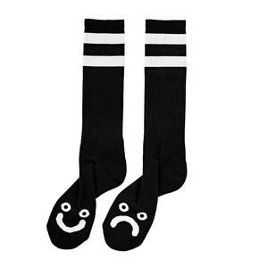 Polar Happy Sad Socks - Black
