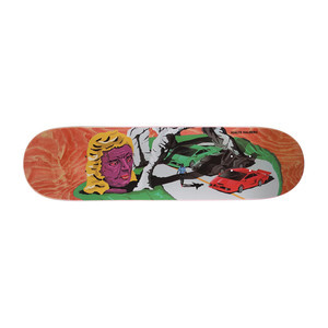 "Polar Hjalte Lambo Life 8.0"" Skateboard Deck - Orange"