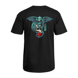 Powell-Peralta Dragon Skull T-Shirt - Black