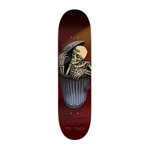 "Powell-Peralta Garbage Can Skelly 8.25"" Skateboard Deck"