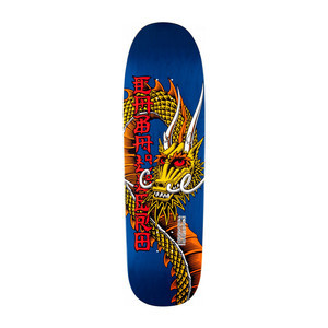 """Powell-Peralta Caballero Ban This 9.26"""" Skateboard Deck - Blue/Red"""