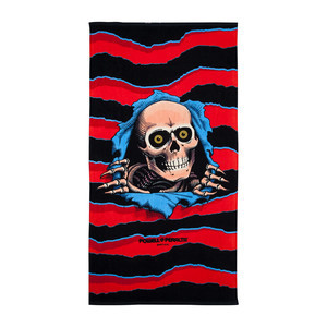 Powell-Peralta Ripper Beach Towel - Red