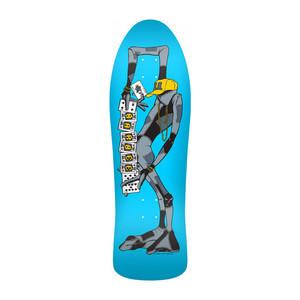 "Powell-Peralta Barbee Ragdoll 10.0"" Skateboard Deck - Blue"