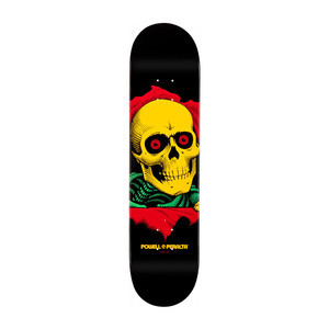 "Powell-Peralta Black Light Ripper 8.0"" Skateboard Deck"