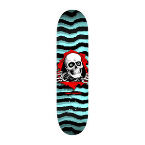 "Powell-Peralta Pastel Ripper 8.5"" Skateboard Deck - Blue"
