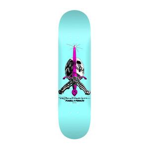 "Powell-Peralta Pastel Skull & Sword 8.0"" Skateboard Deck - Blue"