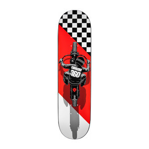 "Powell-Peralta Caballero Flat Track 8.25"" Skateboard Deck"