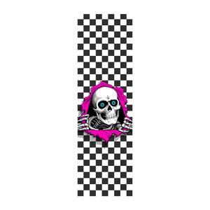 "Powell-Peralta Ripper Checker Griptape - 10.5"" x 33"""