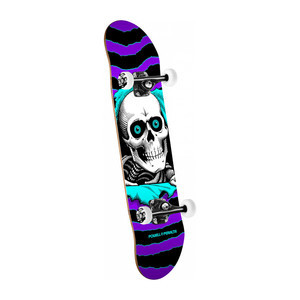 "Powell-Peralta Ripper 8.0"" Complete Skateboard - Purple / Turquoise"