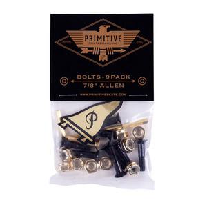 Primitive Skate Hardware - Black/Gold
