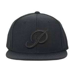 Primitive Classic P Snapback Hat - Black