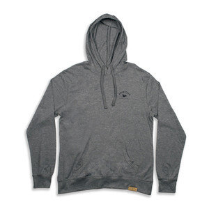 Primitive Pennant Arch Pullover Hoodie - Gunmetal Heather