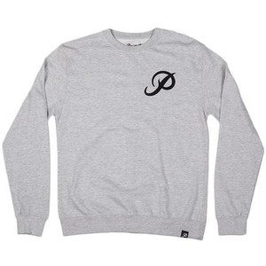 Primitive Classic P Crewneck - Athletic Heather