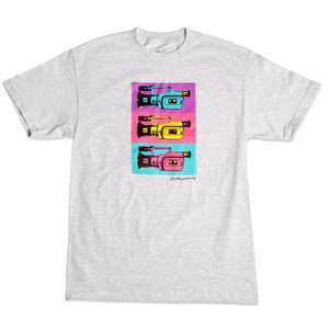 Primitive Pop Art VX1000 T-Shirt - Ash