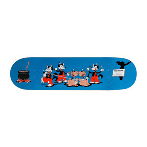 "Primitive Tucker 3 Wolves 8.125"" Skateboard Deck"