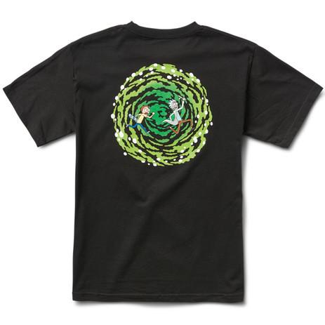 Primitive x Rick & Morty Nuevo Portal T-Shirt - Black