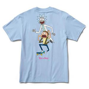 Primitive x Rick & Morty Classic P Skate T-Shirt - Powder Blue