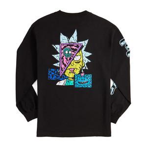 Primitive x Rick & Morty Decon Long Sleeve T-Shirt - Black