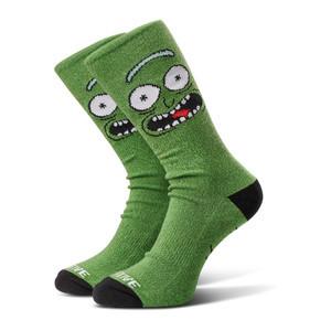 Primitive x Rick & Morty Pickle Rick Crew Socks