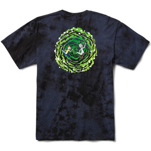 Primitive x Rick & Morty Nuevo Portal T-Shirt - Washed Navy