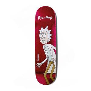 "Primitive x Rick & Morty Rodriguez 8.25"" Skateboard Deck"