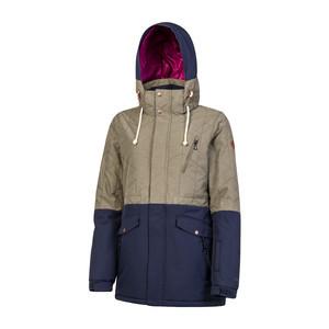Protest Women's Atlin Snowboard Jacket - Camo
