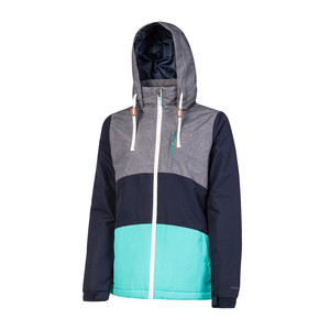Protest Women's Clear Snowboard Jacket - Ground Blue