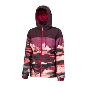 Protest Women's Fernie Snowboard Jacket - Dark Lava