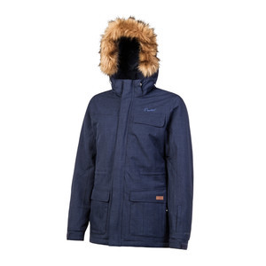 Protest Women's Porthardy Snowboard Jacket - Ground Blue
