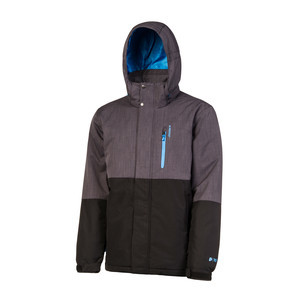Protest Run Snowboard Jacket - True Black